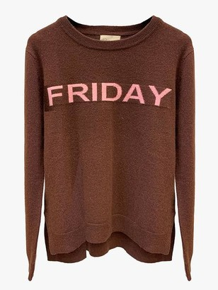LULU'S LOVE - Brown Friday Cashmere Jumper - XS