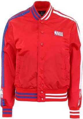 Marcelo Burlon County of Milan NBA Logo Varsity Jacket