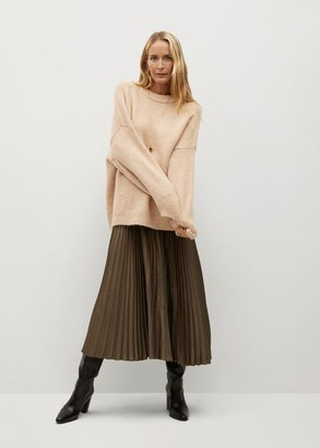 MANGO Oversize knit sweater