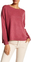 Eileen Fisher Crew Neck Boxy Cashmere Sweater