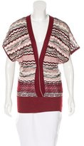 M Missoni Patterned Sleeveless Cardigan