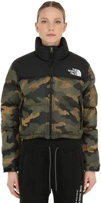 The North Face Womens Nuptse Cropped Down Jacket