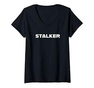 Womens Stalker V-Neck T-Shirt