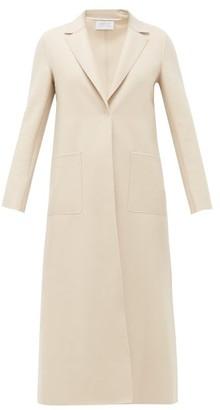 Harris Wharf London Felted Virgin Wool Coat - Womens - Cream
