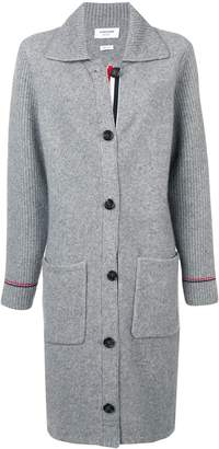 Thom Browne RWB Tipping Over Washed Duffle Coat