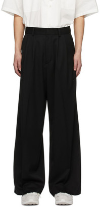 Ambush Black High-Waisted Wide Trousers