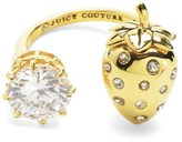 Juicy Couture Strawberry And Stone Ring