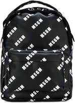 MSGM small branded backpack