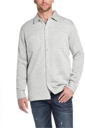 Weatherproof Vintage Men Fleece Lined Shirt Jacket