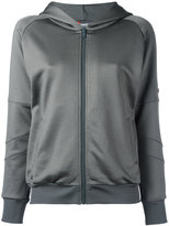 Mr & Mrs Italy - sequined detail zipped hoodie - women - Viscose - XS