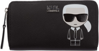Karl Lagerfeld Paris Zipped Wallet