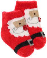 Mud Pie Girls Santa Infant Ankle Socks -Red