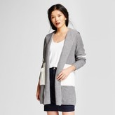 A New Day Women's Hooded Car Coat - A New Day Gray/Cream