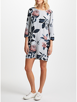 Minimum Liljana Floral Print Dress, Harbour Mist