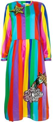 Mira Mikati Striped Maxi Dress