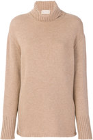 Drumohr cashmere roll-neck jumper