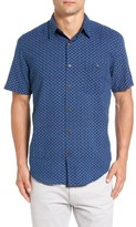 Faherty Men's Coast Trim Fit Print Sport Shirt