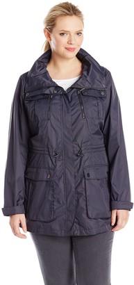 Calvin Klein Women's Plus-Size Adventure Utility Coat