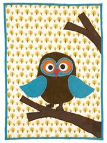 ferm LIVING Owl Quilted Blanket