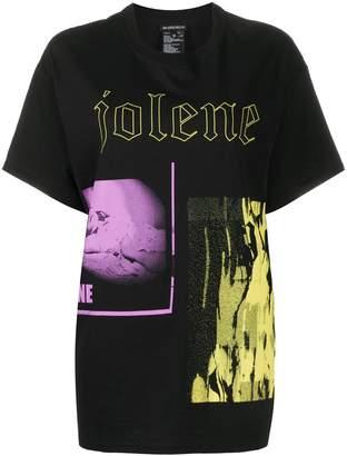 Ann Demeulemeester Jolene photographic-print T-shirt