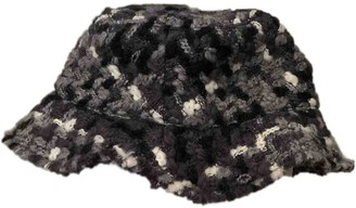 Dolce & Gabbana Black Wool Hats