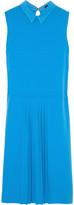Joseph Casey pleated stretch-crepe dress