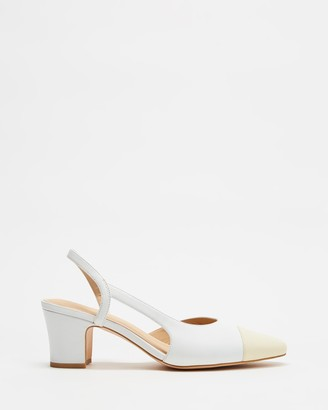 Atmos & Here Pamela Leather Heels
