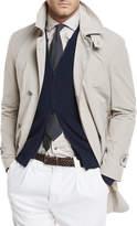 Brunello Cucinelli Nylon Trench Coat
