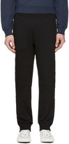 Versace Black Zippered Lounge Pants
