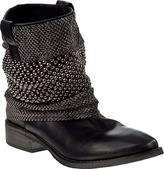Bryan Blake A1502 Western Boot Black Leather
