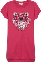 Kenzo Tiger icon cotton sweatshirt dress 4-16 years