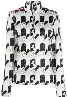 Rossignol Palmares rooster-print sweatshirt