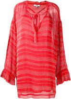 IRO drawstring neck shift dress - women - Cotton/Viscose - 38