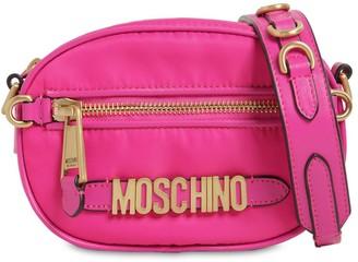 Moschino Logo Nylon Camera Bag