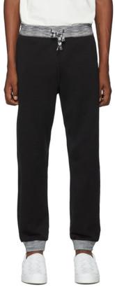 Missoni Black Drawstring Lounge Pants