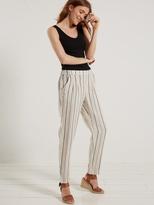 White Stuff Maison stripe linen trouser