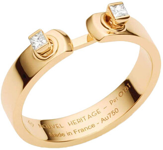Nouvel Heritage Dinner Date Mood Yellow Gold Ring