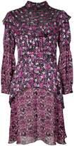 Anna Sui Incense and Joy chiffon high neck dress