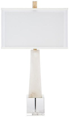 Bradburn Home Adonis Table Lamp - White Alabaster