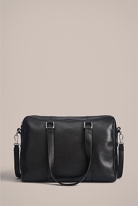 Witchery Leila Pebbled Barrel Bag