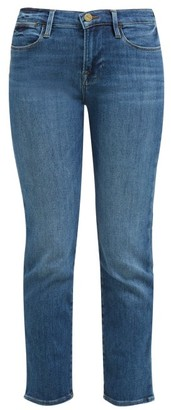 Frame Le High Straight Leg Jeans - Womens - Denim