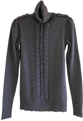 Diane von Furstenberg Grey Wool Knitwear