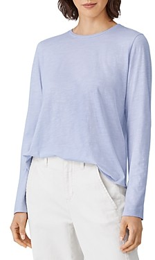 Eileen Fisher Cotton Long Sleeve Tee