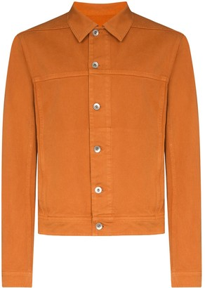 Rick Owens worker denim jacket