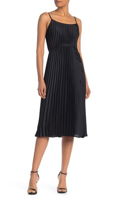 Free Press Belted Pleated Dress
