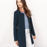 Vila Straight Buttoned Coat
