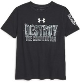 Under Armour Boy's Destroy The Competition Heatgear T-Shirt