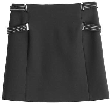 Thierry Mugler Wool Skirt with Belted Sides
