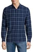 Lucky Brand Plaid Casual Button-Down Shirt