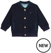 Ted Baker Baby Boys' Navy Twill Bomber Jacket